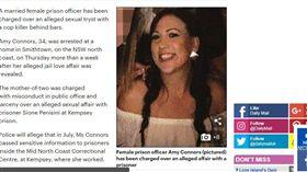 ▲康諾斯在監獄發展畸戀。(圖/翻攝自Daily Mail) https://goo.gl/bHrVkH