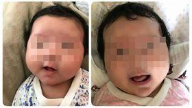 台北,文山,虐童,葛西健二,女嬰。翻攝自臉書
