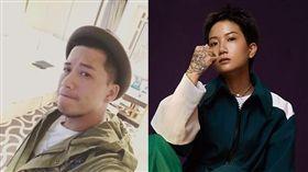 香港女歌手盧凱彤(Ellen)/她的好友、歌手小肥(徐智勇)。(翻攝微博/臉書)
