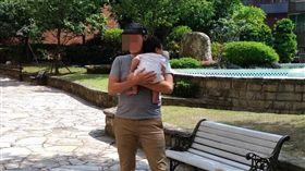 藝人,葛西健二,女嬰,虐嬰,台北(圖/翻攝臉書)