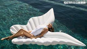 friDay購物,夏日,戲水,全罩式浮潛呼吸面罩,泳衣罩衫,水槍,充氣浮具,沙灘巾