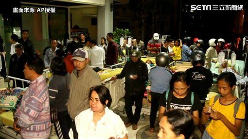 印尼地震(圖/翻攝自AP影音)