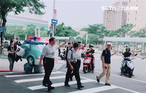 交通部,警政署,台北市政府警察局,宣導活動,/交通部提供