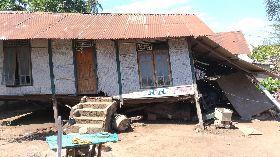 印尼龍目島強震  吉利群島房屋毀損
