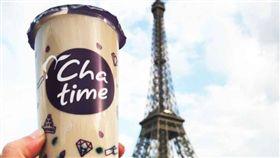亞洲第一家 台連鎖珍奶品牌進駐羅浮宮(圖/翻攝自臉書)