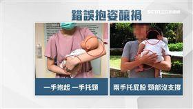 諧星抱姿釀禍 專家:頸沒支撐易後倒 sot 嬰兒,受虐,台北,日本諧星,