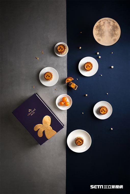中秋月餅,禮盒包裝。(圖/誠品行旅提供)