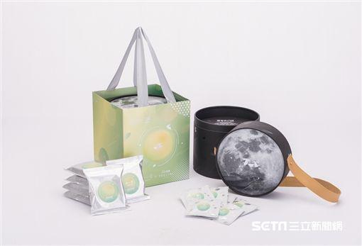 中秋月餅,禮盒包裝。(圖/辻利茶舗提供)