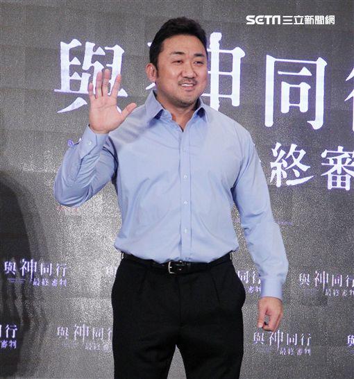 「與神同行:最終審判」演員馬東石。(記者邱榮吉/攝影)