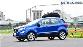 Ford EcoSport 1.0。(圖/鍾釗榛攝影)