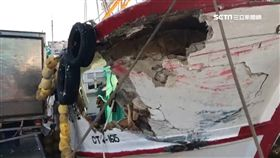 彭佳嶼漁船被撞破大洞 船長控肇事船落跑