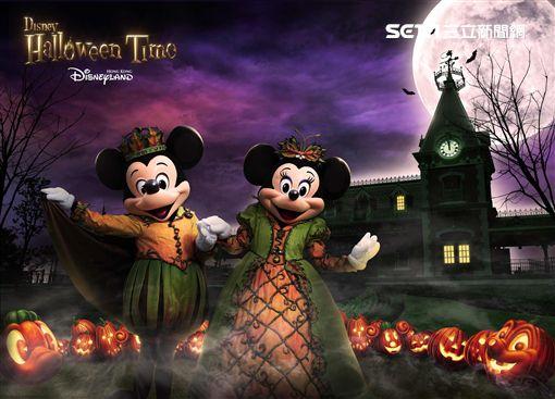 香港迪士尼萬聖節, Halloween。(圖/香港迪士尼提供)