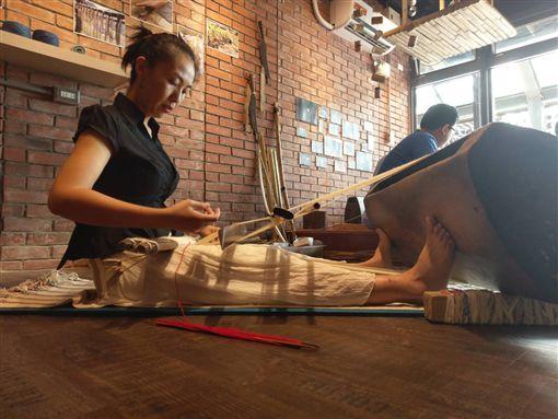 傳藝中心園區推編織工藝快閃工坊 歡迎遊客體驗編織樂趣