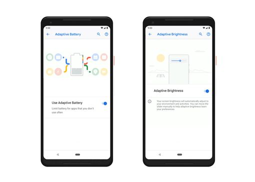 Android 9,電池,電力,應用程式,手機,Android Pie,AI