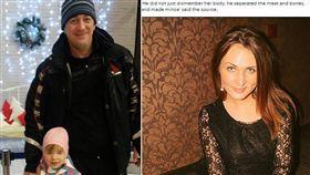 俄羅斯一名27歲小三梅蘭基娜(Tatiana MeleKhina)認識一名36歲男子哲連斯基(Dmitry Zelensky)後,墜入愛河,不料她慘遭對方分屍,屍體還被「碎成絞肉」沖馬桶。目前哲連斯基已被逮捕並承認犯行。(圖/翻攝自每日郵報)