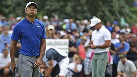 伍茲也曾4度贏得PGA錦標賽冠軍。(圖/美聯社/達志影像)