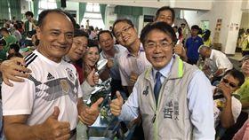 台南六人爭市長 黃偉哲民調40%領先群雄