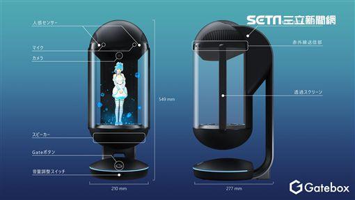 Hikari Azuma,LINE,Gatebox,虛擬管家,智慧裝置,GTBX-100