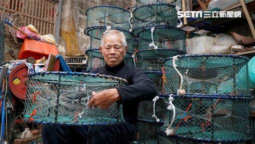 年新北市政府,萬里蟹,紀錄片,捕蟹老人,許八郎,補蟹籠,職人,蟹籠,螃蟹