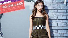 「Twice」成員周子瑜/首張日文專輯《BDZ》宣傳照。(翻攝推特)