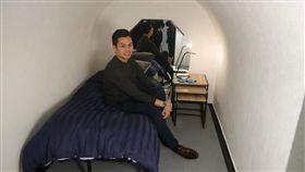 英國,花錢,睡覺,休息,空間(圖/翻攝自Pop&Rest臉書)