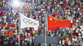 中國大陸,北京奧運,自由(圖/翻攝自微博)