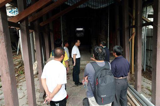 蘇煥智質疑古蹟遭毀 台南市:併案修復