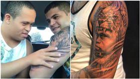 唐氏症,巴西,刺青,兄弟/Soares Sheila臉書