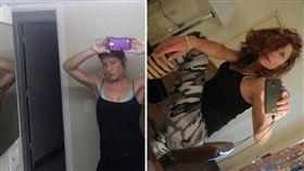美國佛羅里達州一名40歲女子丹妮萊(Danielle Delores Teeples),日前在公園裸奔尖叫,時不時還用雙手搓胸、搓頭髮。當地警方獲報後,立刻將她逮捕,但丹妮萊則稱有「蜘蛛」在她身上,才會脫衣尖叫。(圖/翻攝自Danielle Teeples臉書)
