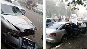俄羅斯富二代酒駕將路人撞成兩截(圖/翻攝自每日郵報)