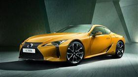 Lexus LC Limited Edition。(圖/翻攝Lexus網站)