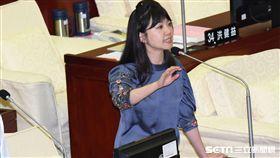 民進黨台北市議員高嘉瑜。 圖/記者林敬旻攝