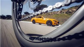 Ford WheelSwap虛擬實境體驗第一人稱視角,。(圖/Ford提供)