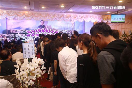 馬如風告別式、王燦 圖/記者蔡世偉攝影