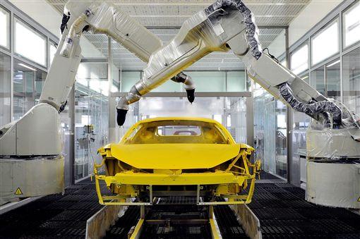 Ferrari低溫烤漆系統。(圖/Ferrari提供)