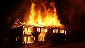 縱火,火災,火燒厝(翻攝pixabay)