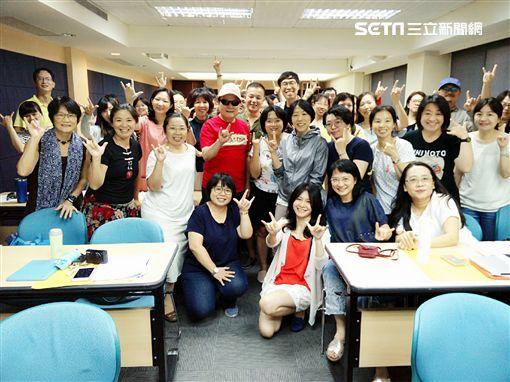 劉福助參加「流行音樂輔助教材」教師培訓營。 圖/詠聯文創提供