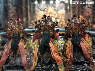 三尊上帝御駕親征 南投祈福向前行