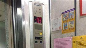 農曆7月,鬼門開,電梯,鬼月,地下18層(圖/翻攝畫面)