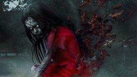 鬼月,紅衣小女孩,/翻攝自臉書