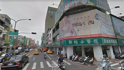 台南,擦撞,肇事逃逸,OK,有沒有素。翻攝自Google Map