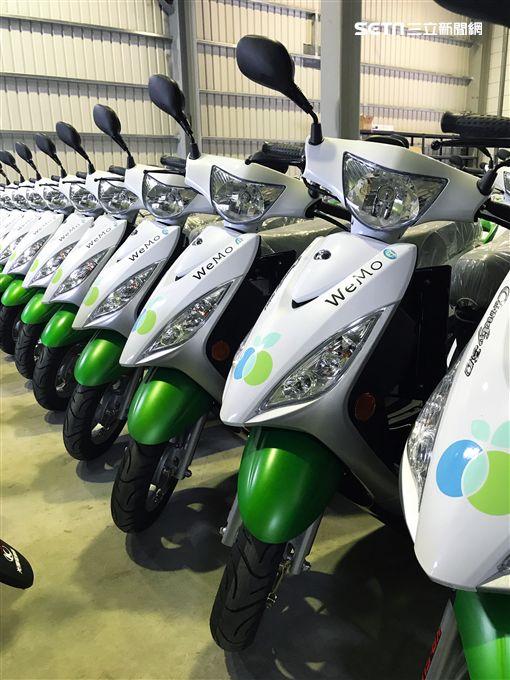 WeMo Scooter,智慧電動機車,/品牌提供