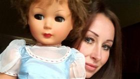 英國,蘇格蘭,安娜貝爾,洋娃娃,詭娃,百年,詭異,靈異,恐怖,鬼娃(圖/翻攝畫面)