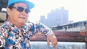 劉福助不打算一頭熱栽進台語嘻哈創作,認為一切隨緣。(圖/記者蔡世偉攝影)