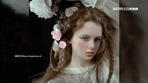 天使下凡?猶如走出畫像的俄羅斯少女SOT俄羅斯,仙女,Milana Angelova,攝影,身分
