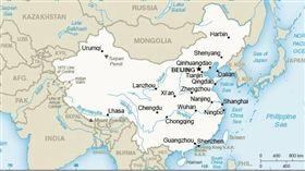 美國務院網站 竟將台灣列入中國版圖 美國,國務院,中國,版圖,台灣,外交部 翻攝自美國務院網站