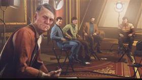 ▲德國版本的遊戲中,納粹符號被替換,希特勒也沒有鬍子。(圖/翻攝自Youbube)