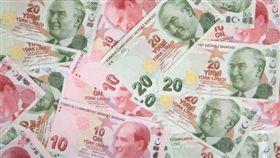 土耳其貨幣,里拉,土耳其紙鈔(圖/pixabay)