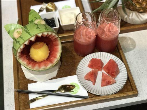 一夫冰果,水果,果汁,療癒,美食(記者郭奕均攝影)