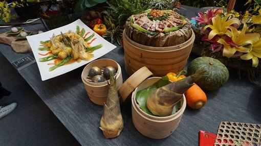 台中花博,繽紛台中館,廚師,美食